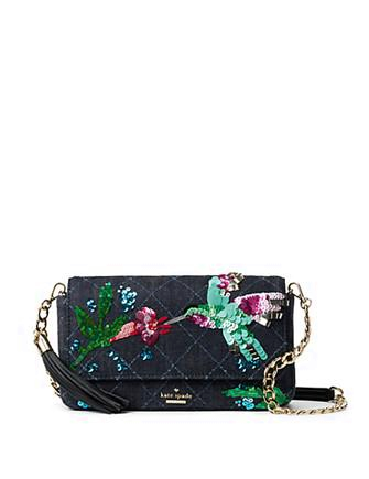 Kate Spade New York Emerson Place Hummingbird Serena Crossbody