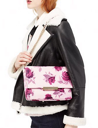 Kate Spade New York Emerson Place Roses Lenia Shoulder Bag