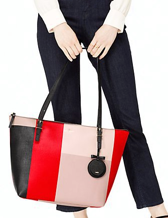 Kate Spade New York Emma Lane Fabric Maya Tote