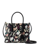 Kate Spade New York Eva Fete Floral Small Top Zip Satchel