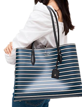 Kate Spade New York Eva Stripe Large Tote