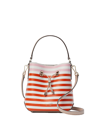 Kate Spade New York Eva Stripe Small Bucket Bag