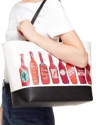 Kate Spade New York Extra Spicy Hot Sauce Remmi Tote