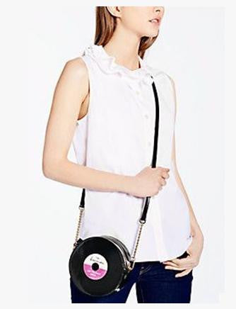 Kate Spade New York Fancy Footwork Saxton Record Crossbody
