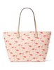 Kate Spade New York Flamingo Shore Street Margareta Tote