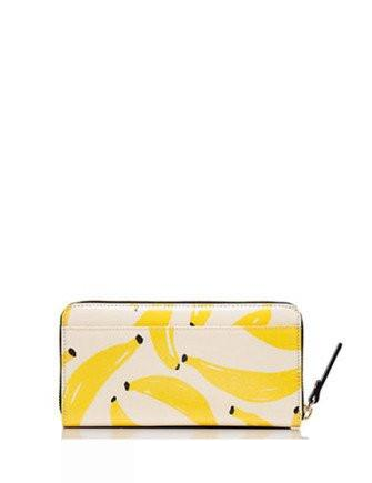 Kate Spade New York Flights of Fancy That's Bananas Lacey Wallet
