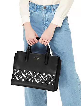 Kate Spade New York Flynn Street Meriwether Satchel