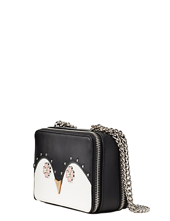 Kate Spade New York Frosty Chain Double Zip Crossbody