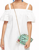 Kate Spade New York Full Plume Mint Leaf Crossbody