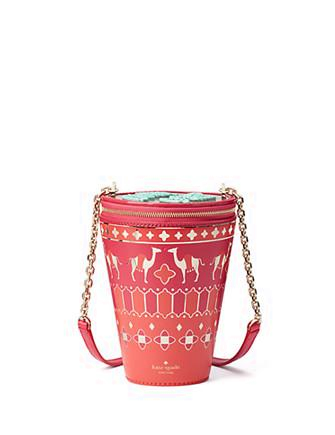 Kate Spade New York Full Plume Tea Glass Bag Crossbody