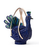 Kate Spade New York Full Plume Wicker Peacock Satchel