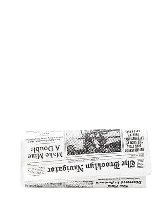 Kate Spade New York Glitzy Ritzy Newspaper Clutch