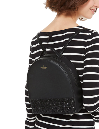 Kate Spade New York Greta Court Sammi Glitter Backpack