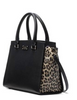 Kate Spade New York Grove Street Leopard Lana Satchel