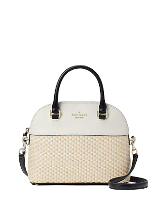 Kate Spade New York Grove Street Straw Carli Mini Satchel