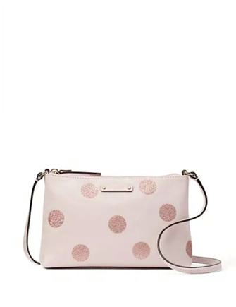 Kate Spade New York Haven Lane Ramey Glitter Dots Crossbody