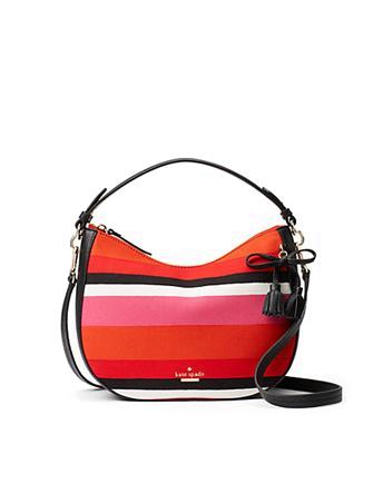 Kate Spade New York Hayes Street Fabric Small Aiden Shoulder Bag