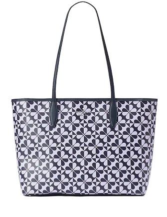 Kate Spade New York Hollie Spade Clover Geo Large Tote