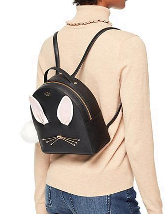 Kate Spade New York Hop To It Rabbit Sammi Backpack