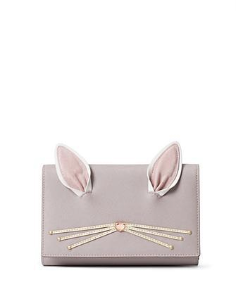 Kate Spade New York Hop To It Rabbit Winni Wallet Crossbody