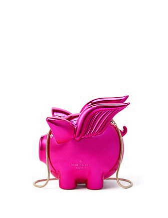 Kate Spade New York Imagination Flying Pig Clutch