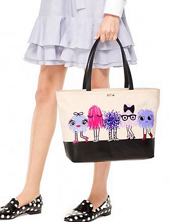 Kate Spade New York Imagination Monster Party Francis Tote