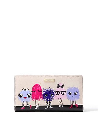 Kate Spade New York Imagination Monster Party Stacy Wallet