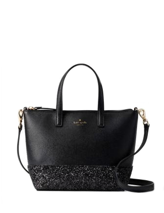 Kate Spade New York Ina Greta Court Glitter Crossbody