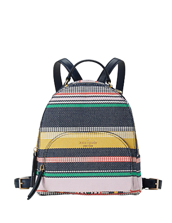Kate Spade New York Jackson Boardwalk Stripe Medium Backpack