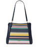 Kate Spade New York Jackson Boardwalk Stripe Medium Triple Compartment Shoulder