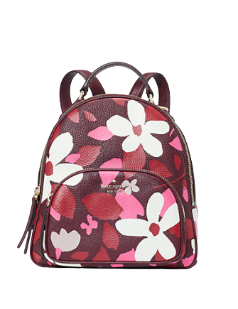 Kate Spade New York Jackson Forest Floral Medium Backpack