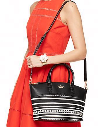 Kate Spade New York Jackson Street Fabric Small Dixon Satchel
