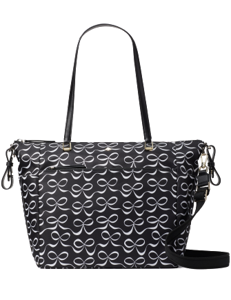 Kate Spade New York Jae Elegant Bow Baby Bag