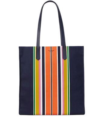 Kate Spade New York Kitt Stripe Extra Large North South Tote