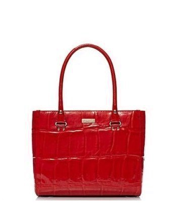 Kate Spade New York Knightsbridge Quinn Croc Embossed Tote