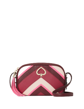 Kate Spade New York Kourtney Chevron Camera Bag