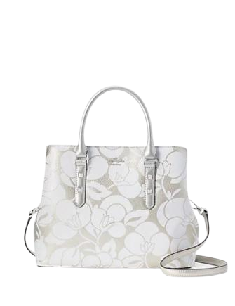 Kate Spade New York Larchmont Avenue Breezy Floral Evangelie Satchel