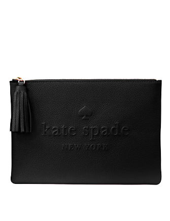 Kate Spade New York Larchmont Avenue Logo Gia Clutch