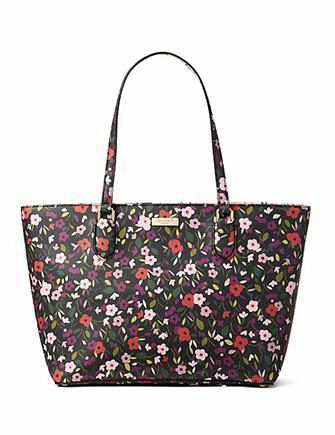 Kate Spade New York Laurel Way Boho Floral Medium Tote