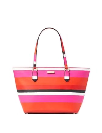 Kate Spade New York Laurel Way Bonita Stripe Small Dally Tote