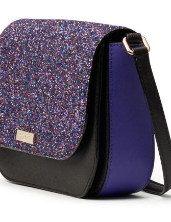 Kate Spade New York Laurel Way Glitter Large Carsen Crossbody
