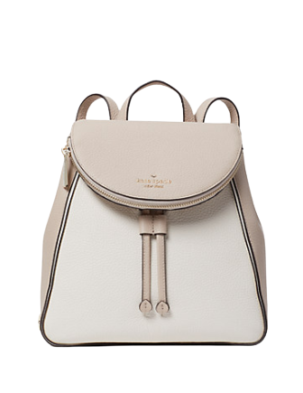 Kate Spade New York Leila Colorblock Medium Flap Backpack