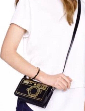 Kate Spade New York Lemon Street Gwen Camera Crossbody