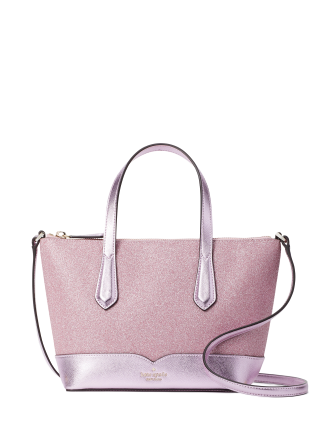 Kate Spade New York Lola Glitter Satchel