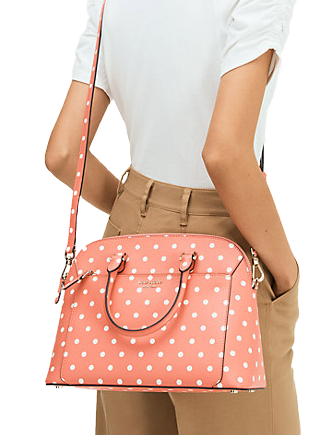 Kate Spade New York Louise Cabana Dot Medium Dome Satchel