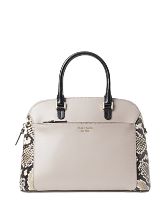 Kate Spade New York Louise Python Embossed Medium Dome Satchel