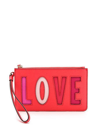 Kate Spade New York Love Birds Slim Bee Wristlet