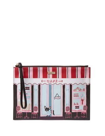 Kate Spade New York Ma Cherie Cafe Scene Medium Bella Pouch