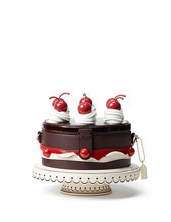 Kate Spade New York Ma Cherie Cherry Cake Clutch