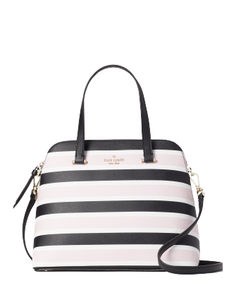 Kate Spade New York Maise Celebration Stripe Medium Dome Satchel